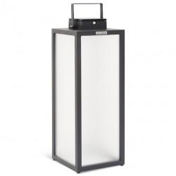 Lampe solaire Tradition en aluminium H65