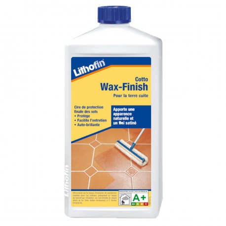 Lithofin Cotto Wax-Finish 1 litre